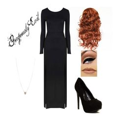 """""""Supernatural/Rowena inspired outfit"""" by ashmay ❤ liked on Polyvore featuring Avon, INDIE HAIR, Glamorous, ALDO and Kate Spade"""