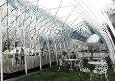 Naves Temporary Pavilion Proposal,© Appareil