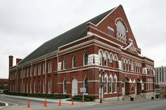 The Ryman Auditorium Home of the Grand Ole Opry