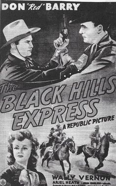Don 'Red' Barry, William Halligan, and Ariel Heath in Black Hills Express Event Photos, Red S, Ariel, Behind The Scenes, Graphics, Vintage, Graphic Design, Printmaking, Vintage Comics