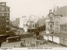 Kings Cross, Darlinghurst, Sydney, New South Wales, Australia in the 1900s