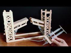 How to Make Hydraulic Bridge - YouTube