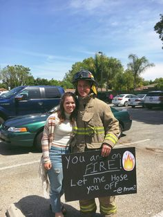 #prom #firefighter #formal #dance #danceask #sadies #homecoming #homecomingask