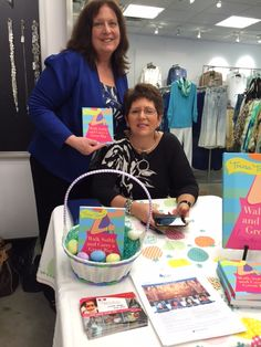 @TeresaTomeo signing Walk Softly at Chico's in Grosse Point, Michigan