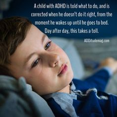 """""""A child with ADHD is told what to do, and is corrected when he doesn't do it right, from the moment he wakes up until he goes to bed. Even when the rebuff is gentle, the child learns that he doesn't measure up. Day after day, this takes its toll."""" Art projects can help to bring out a child's strengths and positive attributes."""