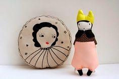 Una imaginativa selección de cojines infantiles de diseño creados por los mejores diseñadores del momento / A imaginative selection of kid's cushions by the best designers