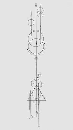 Geometric Tattoo Meaning, Tattoos Geometric, Geometric Symbols, Geometric Tattoo Design, Tattoos With Meaning, Geometric Art, Geometric Sleeve, Arrow Tattoos, Forearm Tattoos