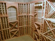 Unique Wine Cellar Ideas - modern - wine cellar - salt lake city - by Wine Racks America