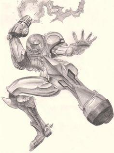 Metroid series...Samus by cactuar9999.deviantart.com on @DeviantArt