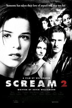 Scream 2 Movie Poster Slasher Horror Movie Posters, Cinema Posters, Horror Movies, Horror Villains, Halloween Movies, Scary Movies, Great Movies, Movies Box, Scream 2