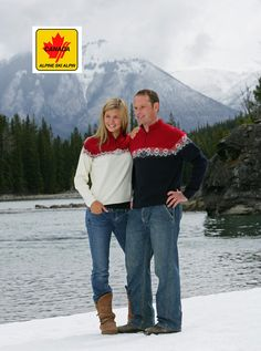 Here is the Dale of Norway Canadian alpine ski team sweater (Mt Logan). Recognize the male model? It's Thomas Grandi - four time Olympian and world cup winner. Beautiful Norway, World Cup Winners, Alpine Skiing, Norway Travel, Ski Fashion, Winter Activities, Olympians, Good Books, North America