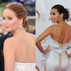 Celeb inspired hair: The low bun  We're loving this unfussy, stylish way of tying up our hair. Inspired by Hollywood beauties, of course.