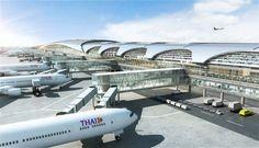 Suvarnabhumi Airport Concourse, HOK