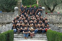 The staff of Allegrini Estates, Villa Della TorreLo staff di Allegrini. 21.10.2013