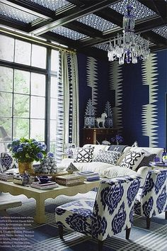 Blue And White Monday