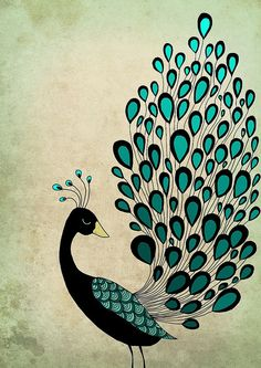 Peacock by Lily Bardenova, via Flickr
