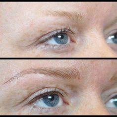 Mircoblading Eyebrows, Blonde Eyebrows, Hd Brows, Threading Eyebrows, Blonde Microblading, Semi Permanent Eyebrows, Cosmetic Tattoo, Eyebrow Tattoo, Tattoo Makeup
