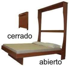 Ideas de camas que se esconden en el techo pared o dentro - Muebles funcionales para espacios reducidos ...