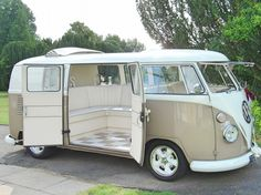 Jodi VW split screen Wedding camper van Northamptonshire