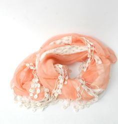 CROCHET LACE SCARF $18.50 free shipping at iloveprim.com
