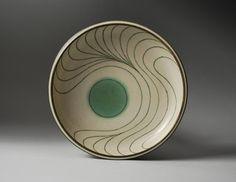 Harrison McIntosh. Platter, 1975