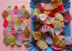 Nice knitty patchy blanket Isn't it just lover-ly?