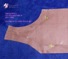 전복 만들기 (산업기사 시험대비) 마름질 : 네이버 블로그 Apron, Sewing, Korean, Dressmaking, Couture, Korean Language, Stitching, Sew, Aprons