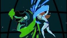 Kim vs Shego--- YESSS!!!! FINALLY A PICTURE FROM MY FAVORITE CHILDHOOD MOVIE!!!!!