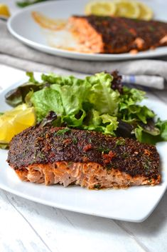 Spicy Baked Salmon | Every Last Bite