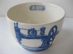 vintage sewing machine bowl