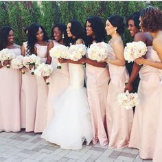 nigerianwedding:  Blush, so pretty ❤️! Photo by @dellaflora #NWbms #NigerianWedding  X