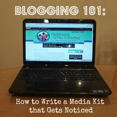 Blogging 101 How to Write a Media Kit