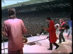 "Dire Straits - Live aid Concert 13th July1985.. I remembered , Dire Straits ""brother in arms"" was my one of the first LP that I bought when I was 15 years old."