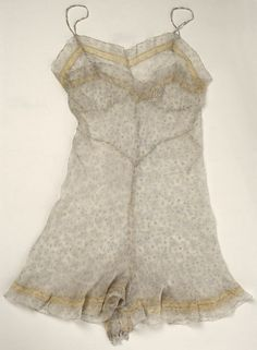 Teddy Date: 1940 Culture: French Medium: silk, cotton Accession Number: 1977.399