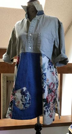 Women's Upcycled Clothing Fun Funky and Comfortable - Upcyled Craft Ideas Rustic Outfits, Boho Outfits, Eco Clothing, Upcycled Clothing, Clothing Redo, Refashioned Clothing, Upcycled Crafts, Clothing Ideas, Diy Clothes