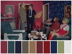 """A Clockwork Orange"" (1971) •Directed by Stanley Kubrick •Cinematography: John Alcott •Production Design: John Barry •Costume Design: Milena Canonero"