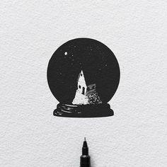 Moonlight. #illustration #sketch #tattoo