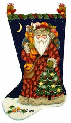 Melissa Shirley Old Fashioned Santa