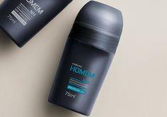 Natura Homem é uma linha especialmente desenvolvida para as necessidades da pele masculina e traz para o cuidado e proteção da sua pele um Desodorante Roll-on com fórmula sem álcool.