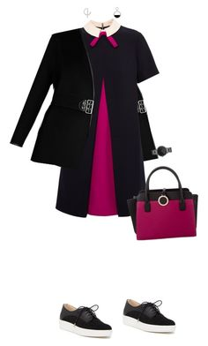 """""""Magentah"""" by merryl-key on Polyvore featuring Dr. Scholl's, Louis Vuitton, Ted Baker, Bulgari, Rebecca Minkoff and BERRICLE"""