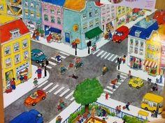 Prent:  de straat