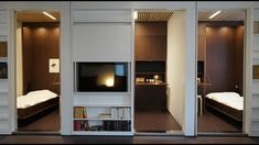 Reconfigurable apartment allows residents to transform their living spaces - YouTube