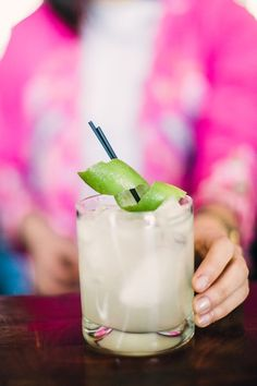 How to make the perfect margarita.