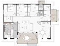 Kotilahti / Kontio Rum, Sweet Home, Floor Plans, Home And Garden, Flooring, How To Plan, Architecture, Home Decor, Houses
