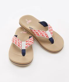 27c1f091e Shop Water Color Whales Classic Flip Flops at vineyard vines Vineyard Vines  Women, Girly Things