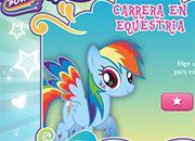 Rainbow Dash Equestria Race | juegos my little pony - jugar mi pequeño pony