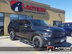 Contour III Cap, Enthuze Fender Flares, OE FIA Seat Covers and Huskey Floor liners installed in this Ram 1500