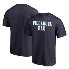 Villanova Wildcats Fanatics Branded Big & Tall Team Dad T-Shirt - Navy