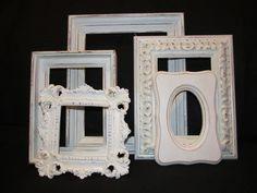 Ornate Shabby Chic Open Frames.