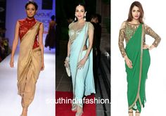 saree gown collage 6